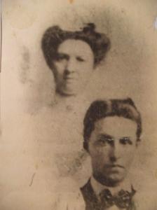 Lizzie & Elmer ca. 1902