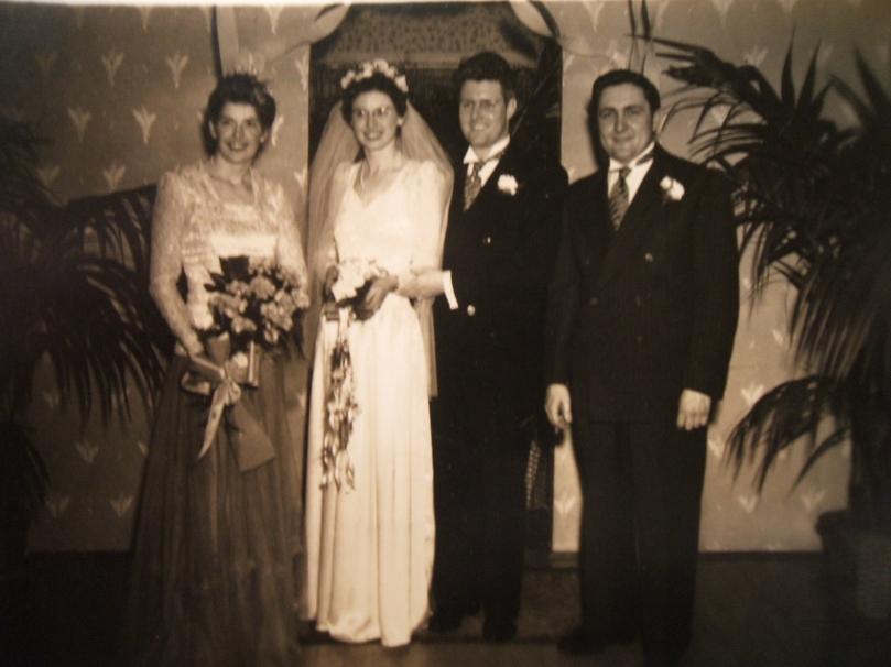 Ethel Hughes-Gilliberty, Edith Hughes-Naylor, Elmer B. Naylor &
